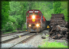 Western New York & Pennsylvania Railroad (Cooks Forest) Tags: railroad train locomotive driftwoodpa alco c630m wnyp westernnewyorkpennsylvaniarailroad httpcooksforestnet