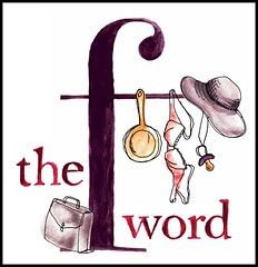 Extract from the book cover, The F Word: How we learned to swear by feminism