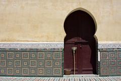 Broom On The Door (MykReeve) Tags: door wall tile arch courtyard doorway morocco mausoleum tiles broom tiling meknes zellij mausoleumofmoulayismail المملكةالمغربية المغرب مكناس