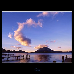 LAGO DE ATITLAN (cisco ) Tags: sky lake clouds guatemala cisco atitlan panajachel photographia artofimages photographia saariysqualitypictures bestcapturesaoi