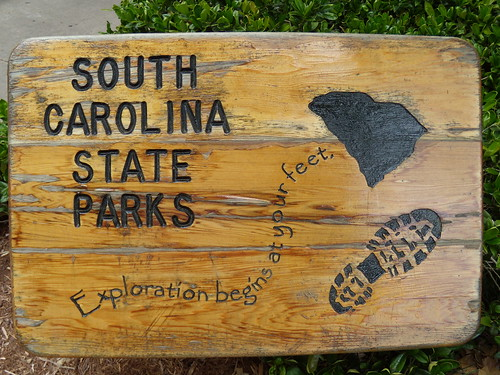 SC State Park Sign at the Welcome Center
