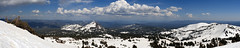 Panoramic View off Lassen (Manzanita Lake, California, United States) Photo