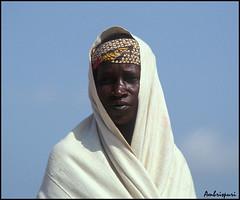 89-Pensativa. (Ambrispuri) Tags: africa portrait woman look tristeza mujer retrato tribal mali ethnic mirada ronger ambrispuri