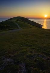the search... (OwnJitra) Tags: sunset beach nikon hill breandown brean d700
