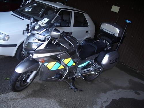 Czech state police - new moto-bike Yamaha