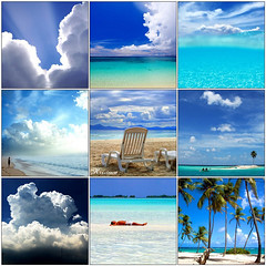 I am thinking about... (GioPhotos) Tags: blue vacation beach clouds relax waiting heaven bluesky palmtrees whitefluffyclouds waitingforsummer paraise chilax dreamvacation exoticbeach takemetoheaven iamthinkingabout iwishyouthere