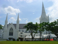 St Andrew's Cathedral, Singapore {Explore} (Eustaquio Santimano) Tags: fab england abbey saint st singapore andrews cathedral piers indian gothic madras style hampshire architectural spirits nave mission neo lightning neogothic unhappy soe strikes anglican built largest 1835 convicts 1842 netley chunam