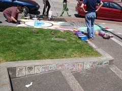 Frost Park Chalk Challenge 2009 06 26