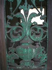 Nicholas Ohlandt gates (Piemouth) Tags: door cemetery grave graveyard memorial gate headstone tombstone lawn east gravestone marker cypress colma taphophilia