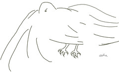 Dream guest #1 (ashabot) Tags: bird pen drawings dreams