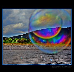 **Balls Of Soap** (♫ Photography Janaina Oshiro ♫) Tags: rio japan digital river natureza colorido boladesabão nikond90