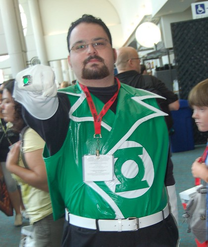 Comic Con 09: Guy Gardner, Kinda