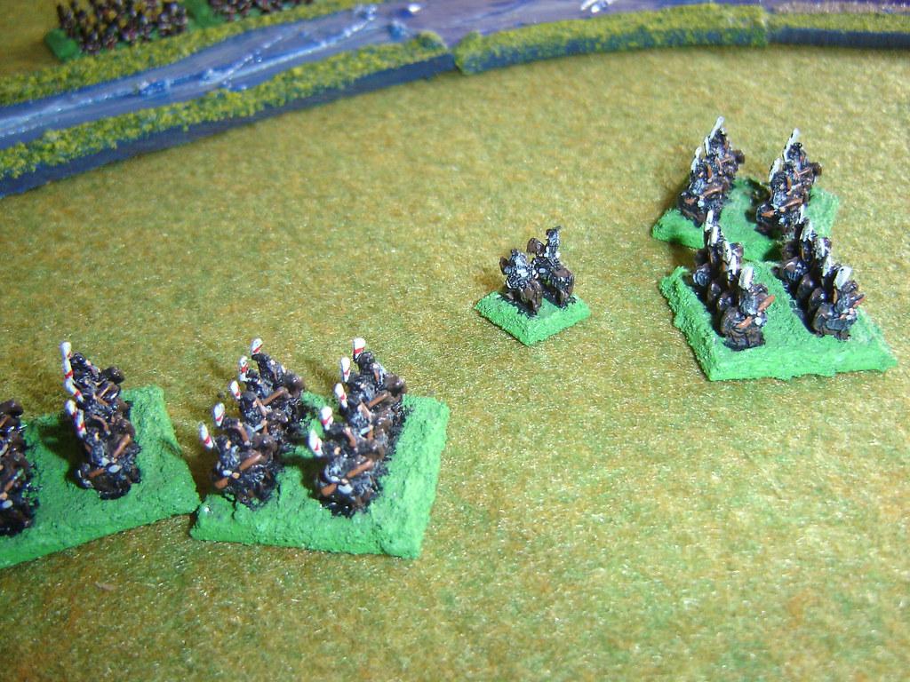 Matsuda cavalry in disorder