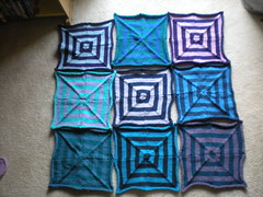 The Blues and Purples Blanket