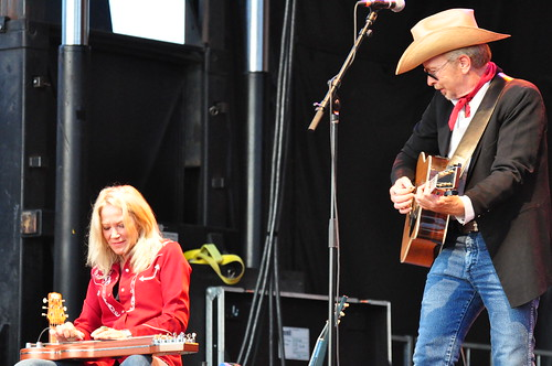 Dave Alvin and The Guilty Women at Ottawa Bluesfest 2009