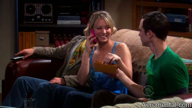 The Big Bang Theory S03E03 Penny iPhone
