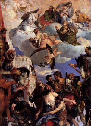 The Martyrdom of St. George, Veronese, 1564
