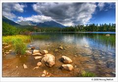 Štrbské  Pleso (Mariusz Petelicki) Tags: lake hdr 3xp hightatras słowacja szczyrbskiejezioro štrbsképleso mariuszpetelicki