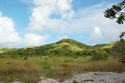 The hills, Calaguas Island, Camarines Norte