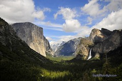 Yosemite Valley, California (Darvin Atkeson) Tags: california park usa inspiration snow clouds america point landscape photography us waterfall spring veil view united tunnel falls glacier national yosemite halfdome states bridal elcapitan darvin  5photosaday  atkeson  darv   liquidmoonlightcom