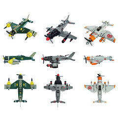 Sky Fighters round-up shot (Fredoichi) Tags: fighter lego space military planes shooter shootemup skyfi shmup skyfighters fredoichi