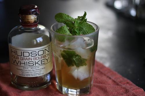 Tuthilltown Bourbon Mint Julep
