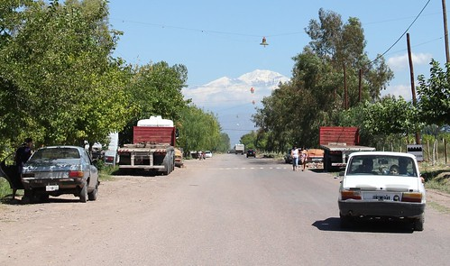 Pedalando em Mendoza