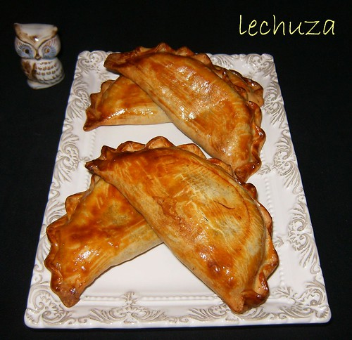 Empanadillas arroz con algas-hechas