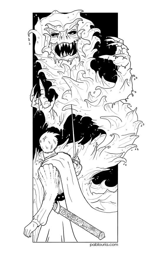 ilustra - En Tierra de Nadie - David Prieto - Ediciones Torre de Marfil - pablouria.com