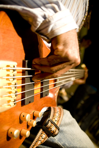 Kavayah on the 5 String Bass, Making of RMS Album 2010