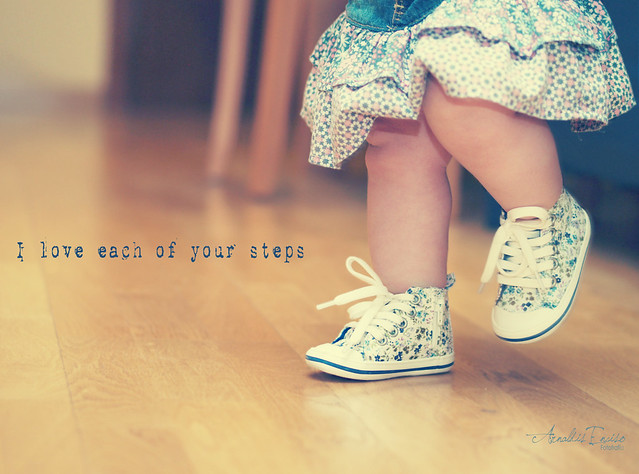 I love each of your steps