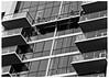 Joy In Repetition (swanksalot) Tags: blackandwhite bw architecture buildings balcony swanksalot sethanderson