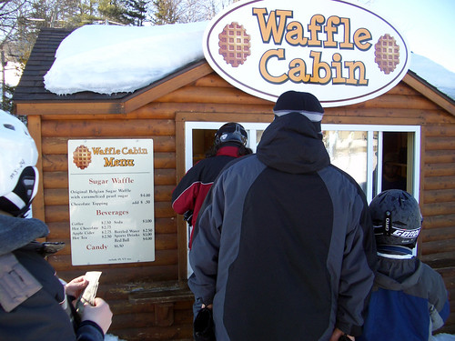 waffle cabin @ mt snow