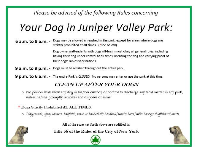 The Juniper Park Civic Association  Serving Middle Village