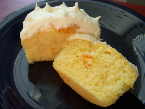Orange Marmalade and Ricotta cupcakes