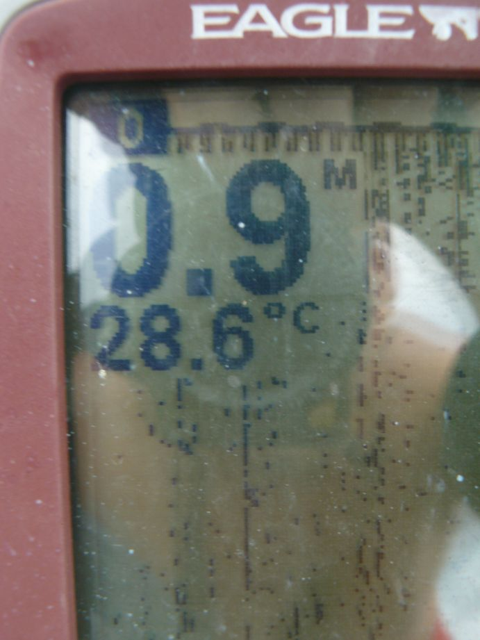 Temperature lagon