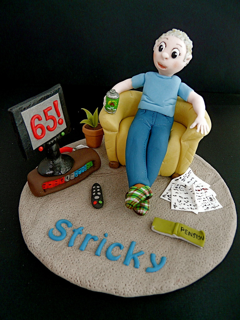 65th Birthday Cake Topper Abbietabbie Tags Beer Tv Newspapers Books Explore Beercan