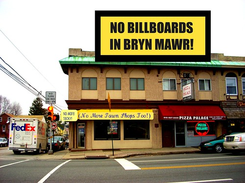NO BillBoards in Bryn Mawr!