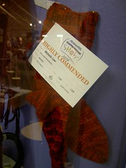 Highly commended - crocheted socks