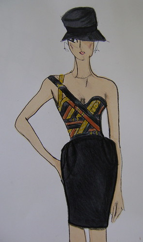 sketch of my garment