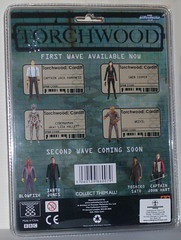Torchwood Gwen Cooper Action Figure Reverse Side