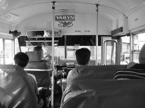 City bus in Panama City...