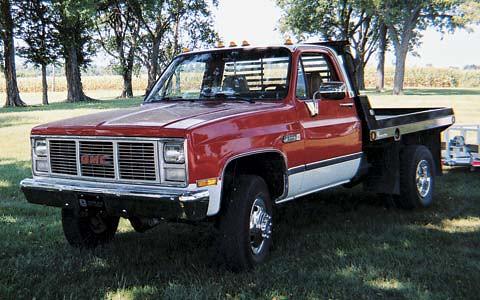 sierra 1986 gmc 3500 daully