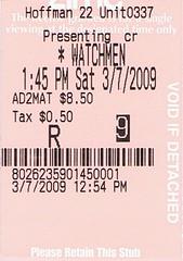 Watchmen stub