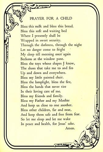 1944 Child's Prayer