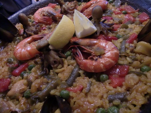 seafood paella (by HAMACHI!)