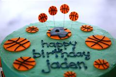 Jaden's Basketball Cake (dougschneiderphoto) Tags: birthday basketball cake buttercream gumpaste sarabakescakes