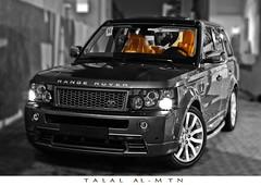 Range Rover Sport HST 2009 (Talal Al-Mtn) Tags: bw black car sport super motor rangerover 2009 talal charged hst kwt   almtn