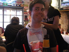 Dave and his bib