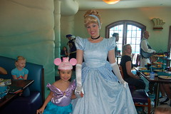 Amanda with Cinderella